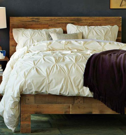 Best 25 simple wood bed frame ideas on pinterest rustic for Nice bed frames
