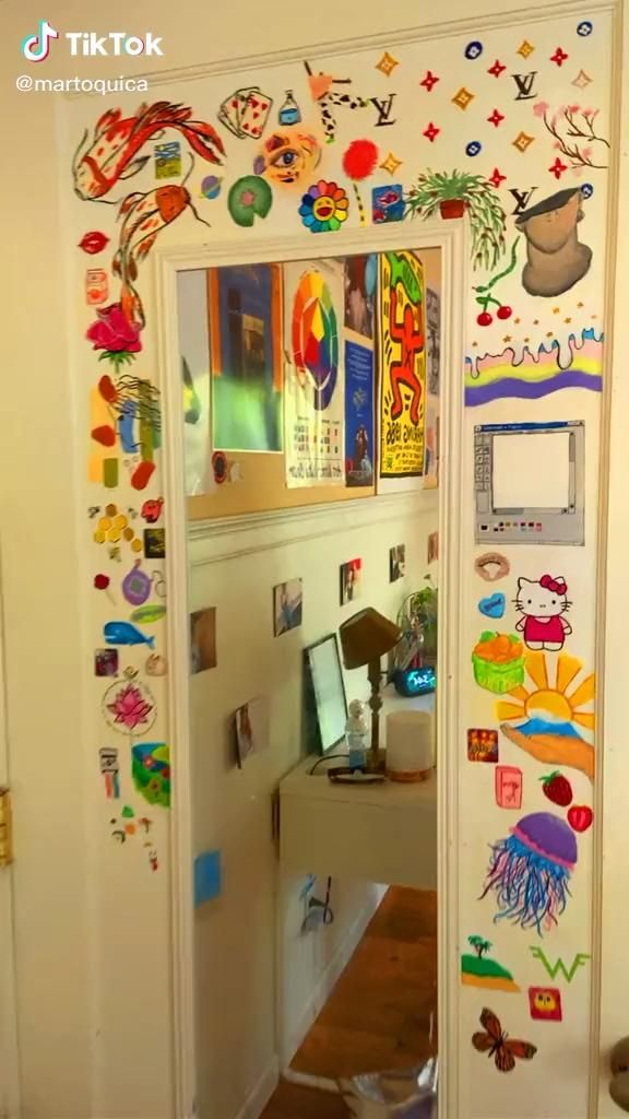 Indie Bedroom, Indie Room Decor, Cute Room Decor, Aesthetic Room Decor, Room Ideas Bedroom, Bedroom Decor, Bedroom Inspo, Chambre Indie, Hippy Room