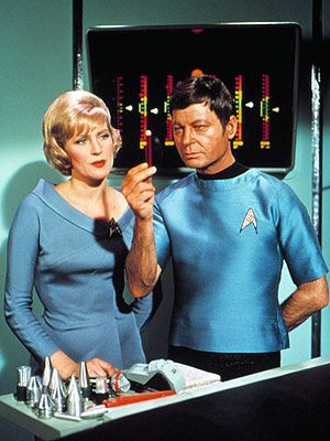 Someday, I want to be a Starfleet nurse and work with Dr. McCoy.
