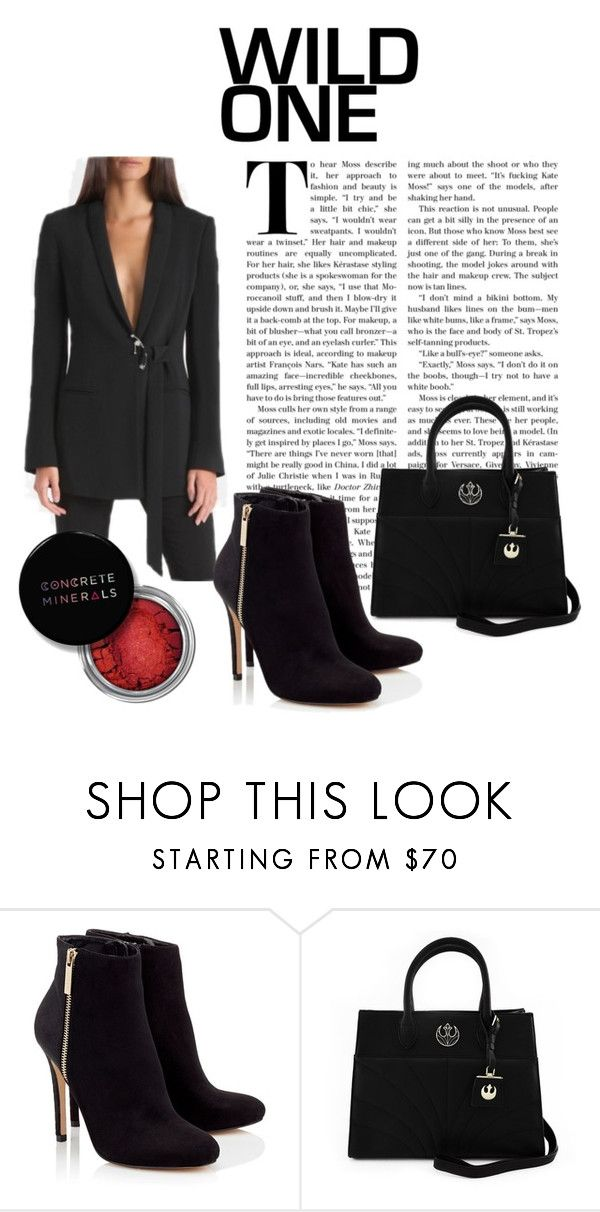 """""""Untitled #104"""" by nashrinsabila on Polyvore featuring Lipsy, Concrete Minerals and Loungefly"""