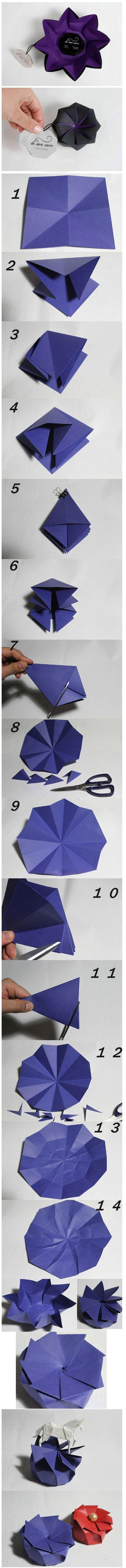 Diy Nice Paper Flower | DIY & Crafts Tutorials