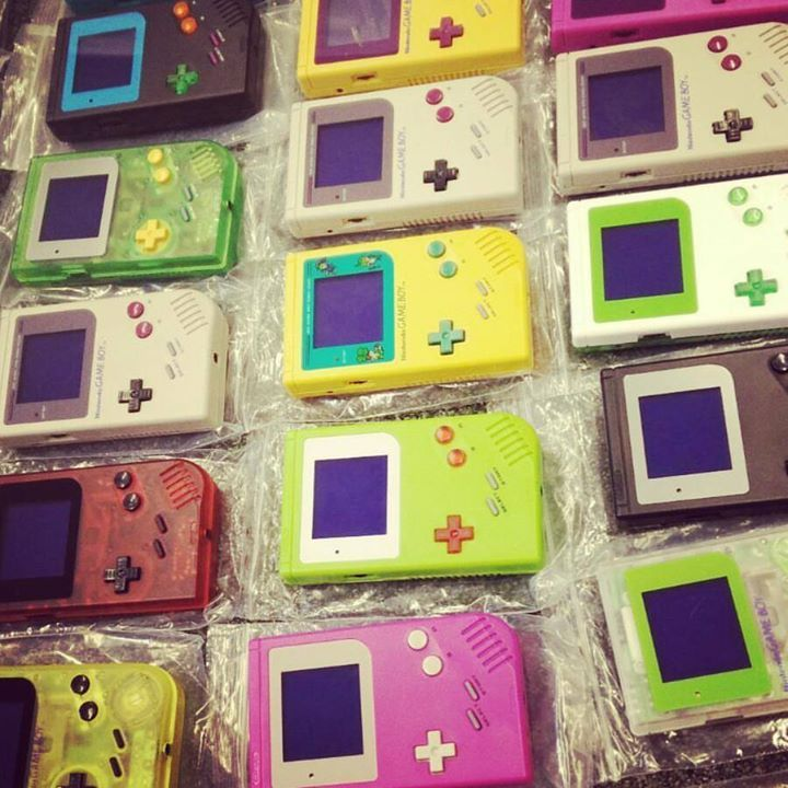 Emma's been busy prepping our show stock  . We sell pre-made consoles and take custom orders - 25 plus parts  . Pick the colours you want from our website (link in bio) - you can either send us a GameBoy to mod or we can provide one for 30  . Or grab everything you need to make your custom console for about 34  . #DeadpanRobot #EnjoyYourMods . #Nintendo #GameBoy #GameBoyMods #NintendoLife