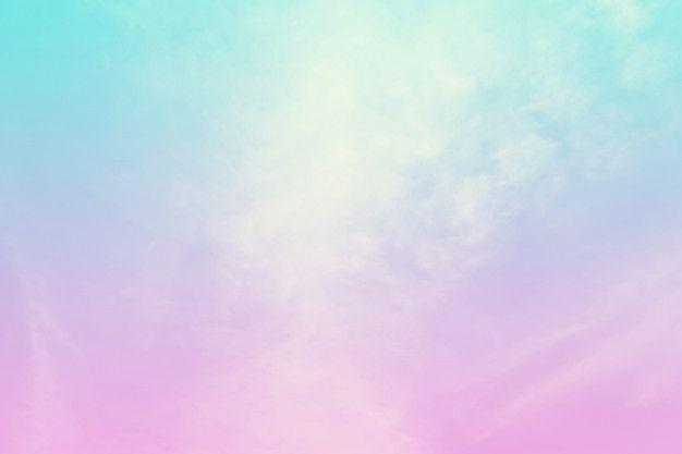 Fond Pastel De Couleur Abstraite Un Ciel Doux Avec Fond De Nuage De Couleur Pastel En 2020 Fond Pastel Ciel Pastel Fond D Ecran Iphone Pastel