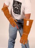 "Gloves and Sleeves :: BGL - BITE GUARD LONG - 18"" Split Grain with Kevlar Lining (previously KKAHG) - Tomahawk Live Trap"