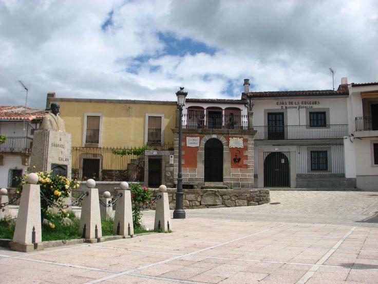 La casa museo del poeta Gabriel y Galán.