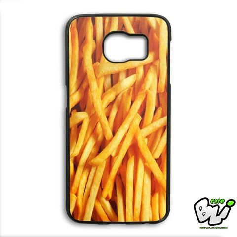 French Fries Pattern Samsung Galaxy S6 Edge Plus Case