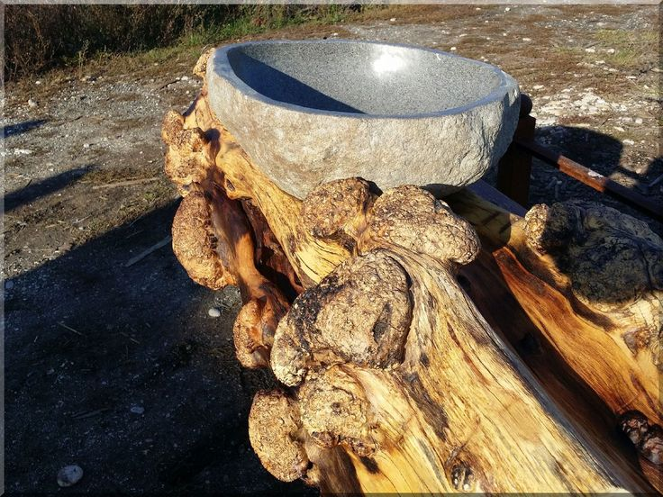 Natúr fa bútor, fürdőszobai mosdó pult