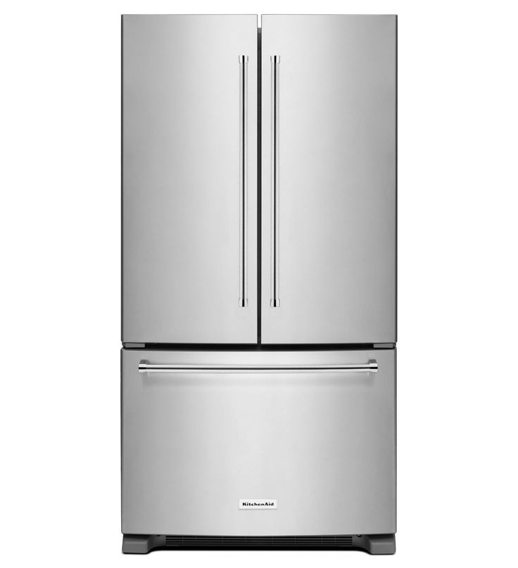 20 Cubic Foot 36-Inch Width Counter-Depth French Door Refrigerator with Interior Dispense | Kitchen Aid