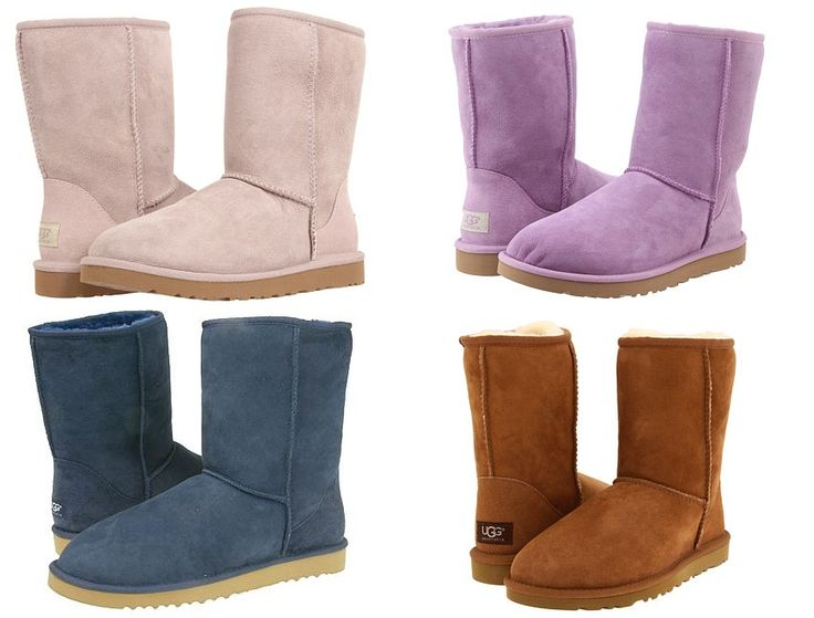 Uggs short boots shipped free many color choices