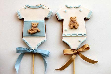 "Pasteleria Alma : Baby Shower Cookies ""Fernando"""