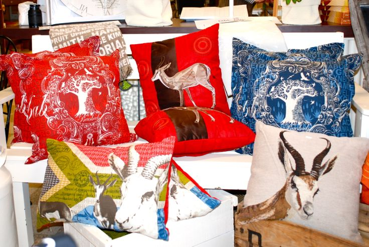 Christmas pillows are available in several different patterns and add brilliant color to any room!!