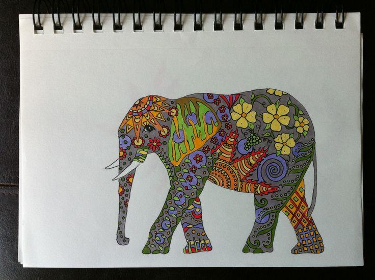 elephant: Tattoo Ideas, Tattoo Piercing, Tattoo 3, Tattoos 3, Tattoo Dreams, Kal Tattoo, Elephant Tattoos, Colorful Elephant Tattoo, Colors Elephants Tattoo