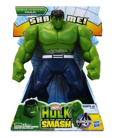 Another great find on #zulily! Shake 'n' Smash Hulk Toy #zulilyfinds