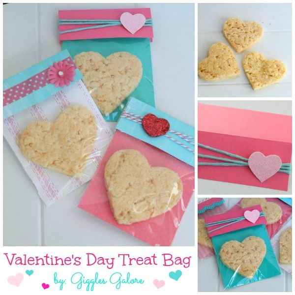 Valentine's Day Treat Bags | A Blissful Nest
