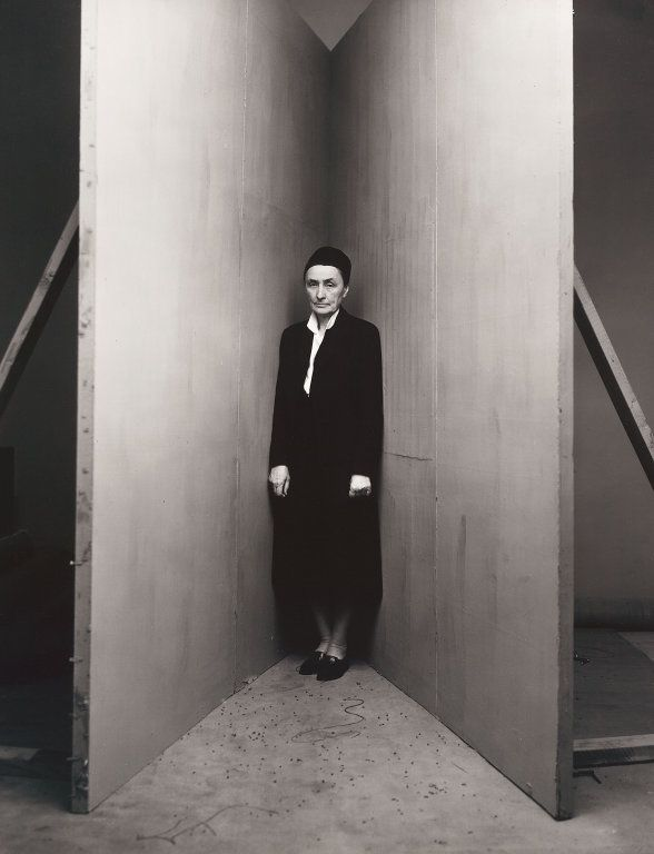 workman:  cavetocanvas: Irving Penn, Georgia O'Keeffe (B), New York, January 31, 1948, printed September 1991