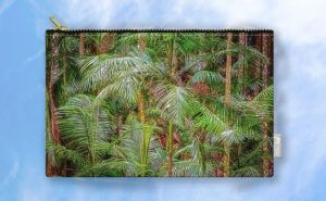 Deep In The Forest Carry-All Pouch design by Dave Catley featuring a Rainforest…