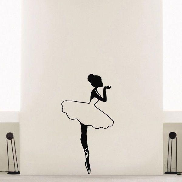 Ballet Wall Art best 25+ ballerina silhouette ideas only on pinterest