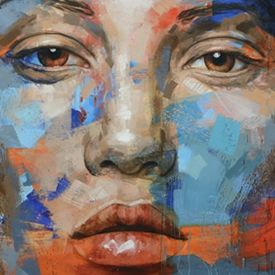 Impressive paintings in oil on canvas created by the South African painter and sculptor Lionel Smit.