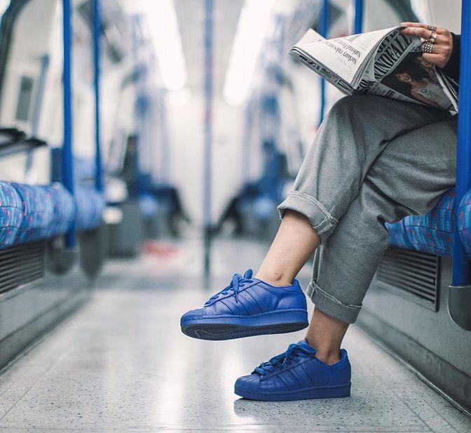 adidas originals superstar supercolor herren sneaker rot