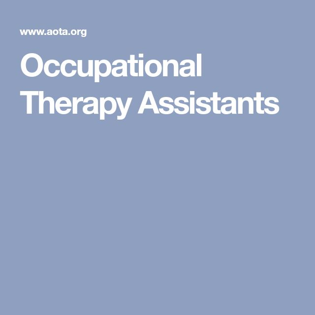Best 25+ Occupational therapy assistant ideas on Pinterest - ot assistant sample resume