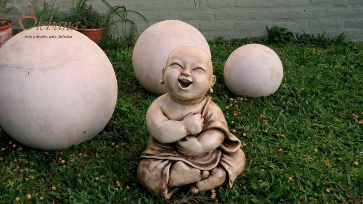 En este vídeo te mostramos el proceso de creación del Buda Bebé.  #Video #Buda #BudaBebe #Budismo #Decoracion #escultura #Arte