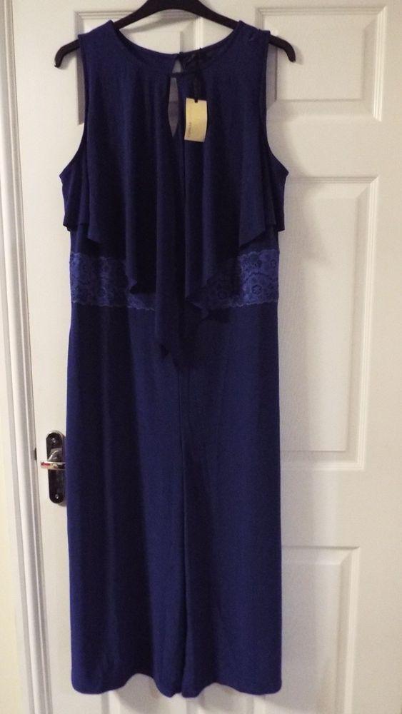 Ladies Jumpsuit Size 1618 Fashion Clothing Shoes Accessories