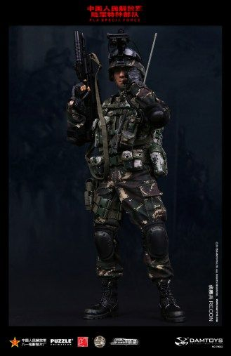 DAMTOYS Chinese People's Liberation Army Special Forces - Recon - 006