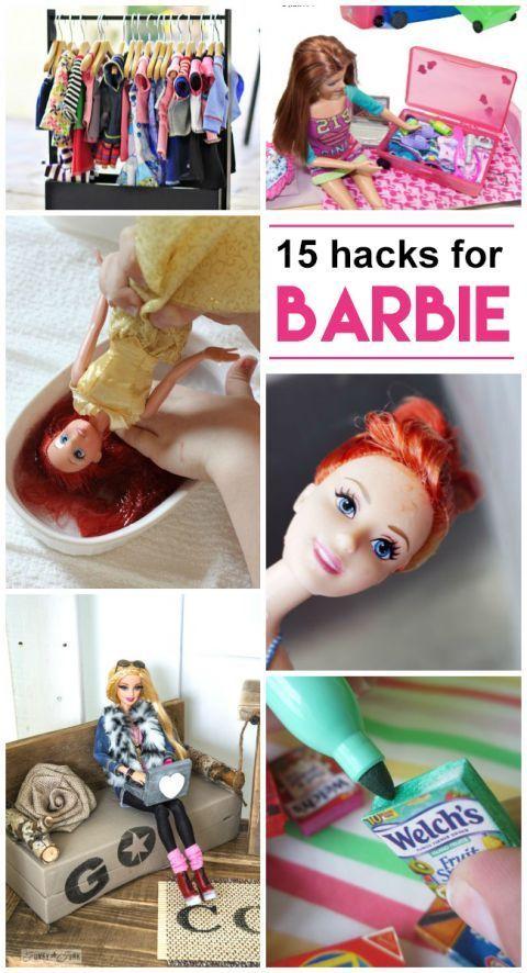 15 Barbie Hacks & DIY's