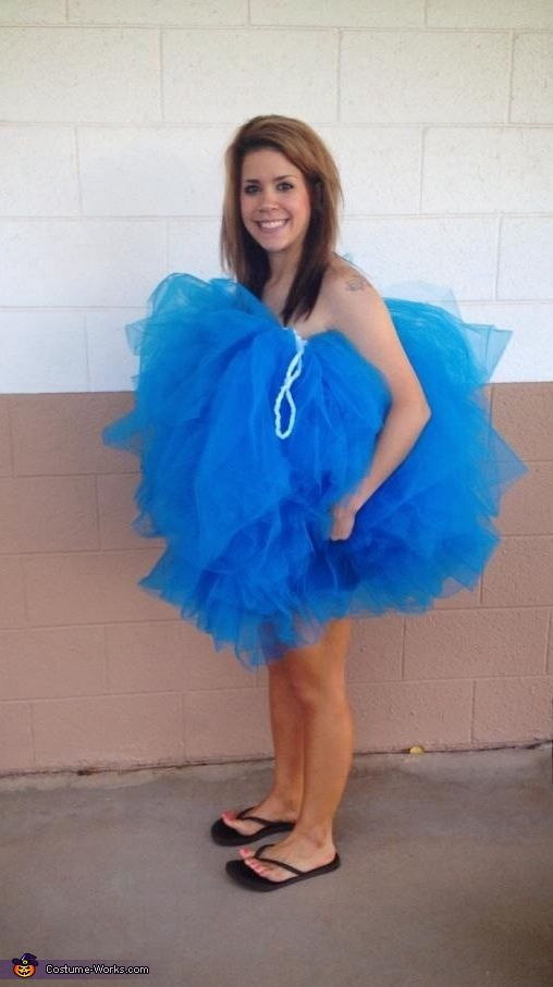 Savannah: I am wearing the costume. It is homemade. I wanted to be original! People LOVED it and thought it was creative.