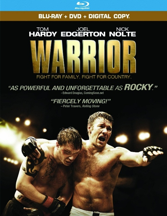 Warrior Movie 2011. and I have seen this one. Shocking I know