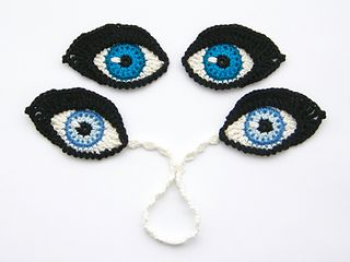 The possibilities for these crochet eyes are endless!