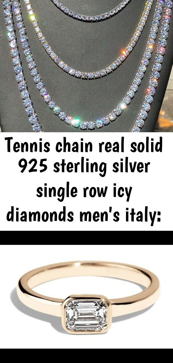 Silver Single Row Bezel Ring