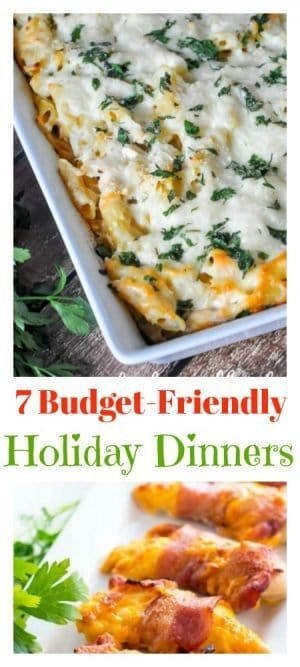 This Platter Talk feautre showcases 7 budget-friendly holiday dinner ideas from some of the best food blogs on the world wide web.