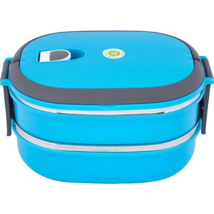 Faize Bearings And Tools Plastic Two Layer Lunch Box In Blue Color  #lunchboxes #Homeandkitchen #Discounts #Offer #ebizy