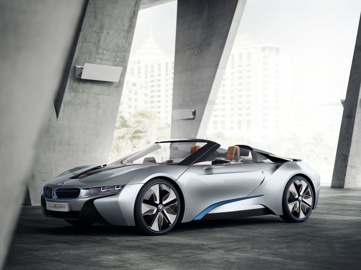 BMW's i8 Spyder concept will soon become reality | The Verge