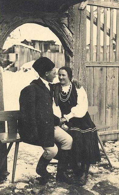 Székely udvarhely couple