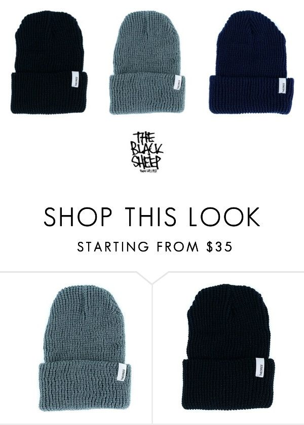 Theories Of Atlantis Keeping Your Head Warm This Winter With These Stylish Beanies. Just £22.95 too.. by blacksheepstore on Polyvore