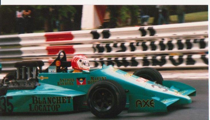 Michel Trollé, Lola T87/50, Cosworth DFV / Heini Mader Racing Components, GDBA XLVII Grand Prix de Pau, 1987.