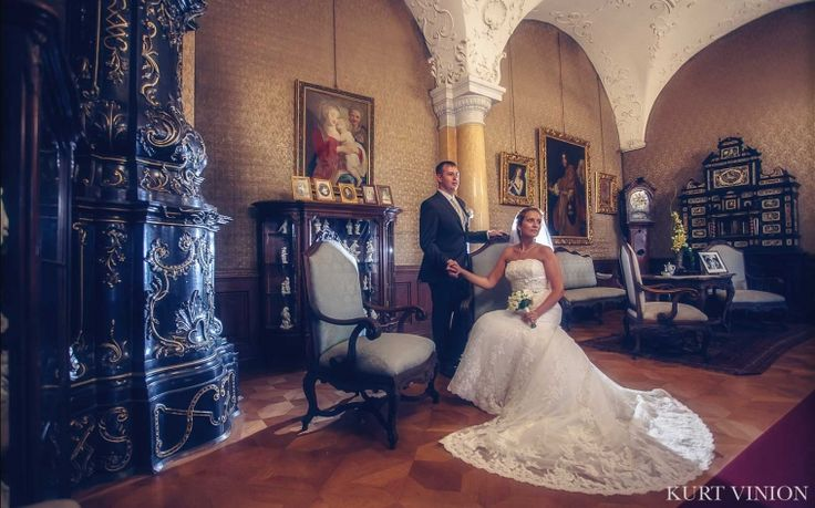 A Castle Wedding at Konopiste