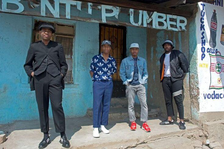 Johannesburg: The Sartists (Wanda Lephoto, Xzavier Zulu, Kabelo Kungwane and Andile Buka) Photographed by Victor Dlamini