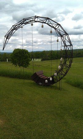 Stone Quarry Hill Art Park in Cazenovia is a 104-acre expanse with outdoor sculptures, an indoor art gallery and four miles of trails.