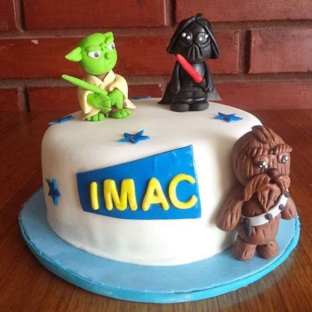 volovan.productosTorta Star Wars #starwars #starwarsfan #starwarscake #cake #fondant #torta #puq #magallanes #chile