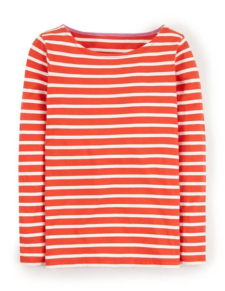 Long Sleeve Breton - This is one of my favorite tops.