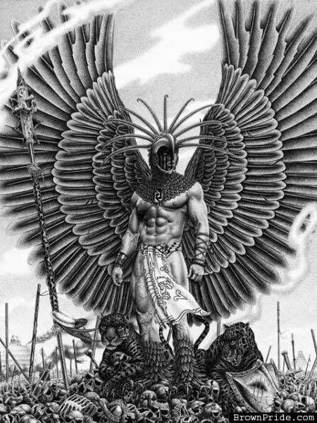 eagle warrior | The Constellation aztec eagle warrior Archer