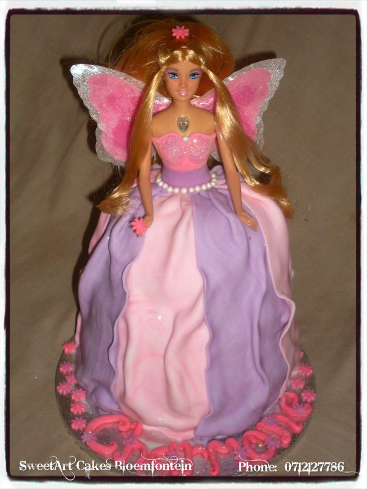Fairy Cake For more info & orders email sweetartbfn@gmail.com or call 0712127786.  Connect with us on Facebook at https://www.facebook.com/SweetArtCakesBfn (WORKSHOPS AVAILABLE)