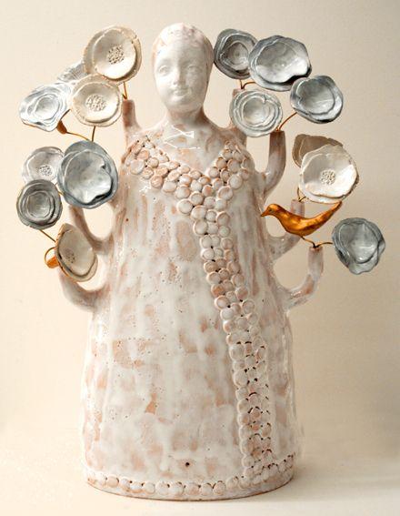 Fabienne Auzolle - Céramiste et magicienne #ceramic #céramique