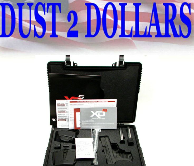 GunAuction.com - NEW UNFIRED SPRINGFIELD XDS 45 ACP In Hard Case 3 Mags and Accessories No Rsv - Item:12615624
