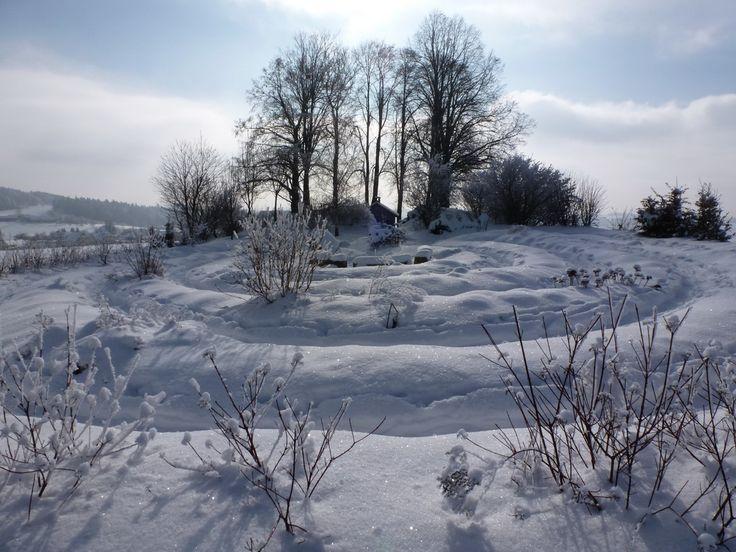 hofkirchen, Austria, a snow covered view