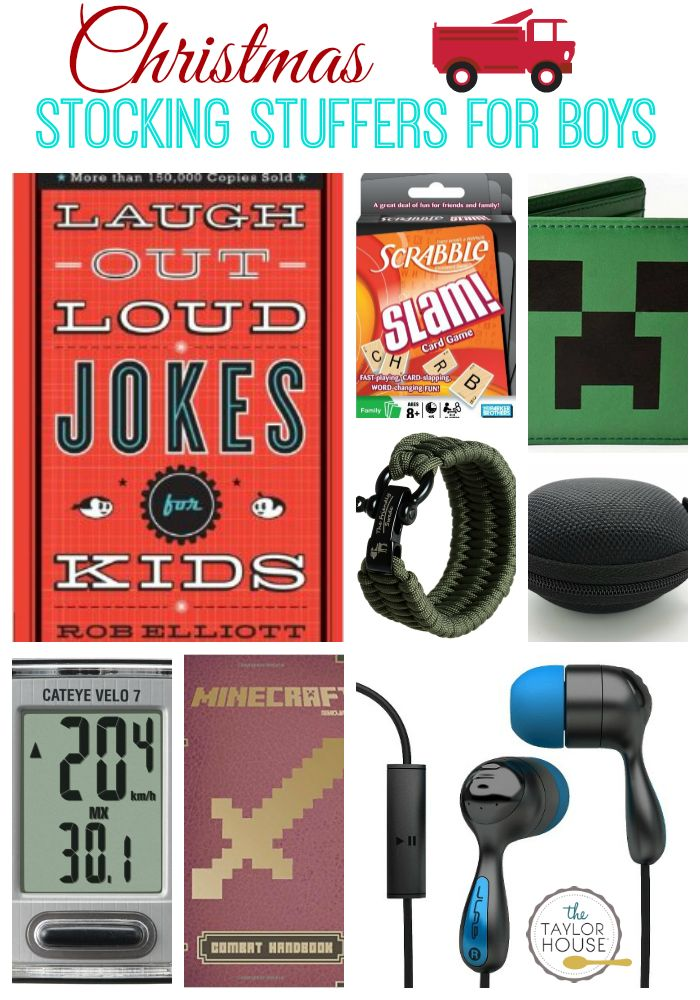 15 AWESOME Stocking Stuffers for Boys - The Taylor House