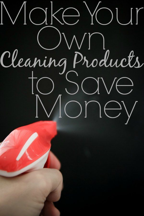 Make Your Own Cleaning Products to Save Money - Satisfaction Through Christ   We're all trying to save money these days! One of the easiest (and healthiest) ways to do that is to make your own cleaning supplies! Here's step-by-step tutorials on making your own laundry detergent, dish detergent, and surface cleaning solutions! DIY, Do It Yourself, #DIY